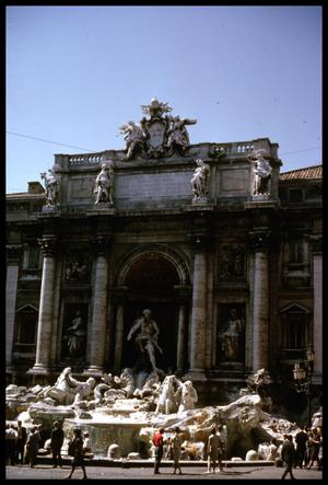 Primary view of object titled '[The Trevi Fountain]'.