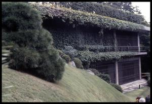 Primary view of object titled '[Garden hillside]'.