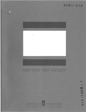 Primary view of object titled 'FAST FLUX TEST FACILITY. Design and development quality assurance requirements for the FFTF'.