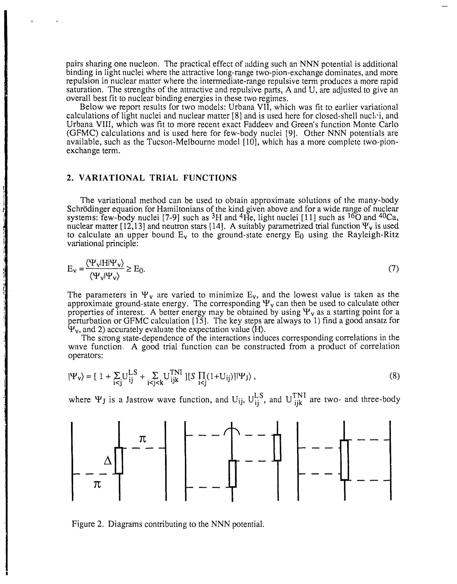 Microscopic calculations of nuclear structure and nuclear correlations                                                                                                      [Sequence #]: 3 of 15
