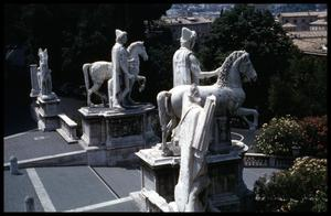 Primary view of object titled '[View from Capitoline Museum]'.