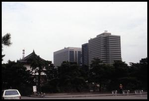 Primary view of object titled '[Skyline at Imperial Palace]'.