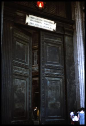 Primary view of object titled '[Pantheon Doors]'.