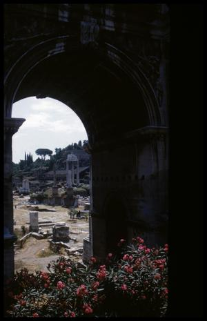 Primary view of object titled '[Arch of Septimius Severus]'.