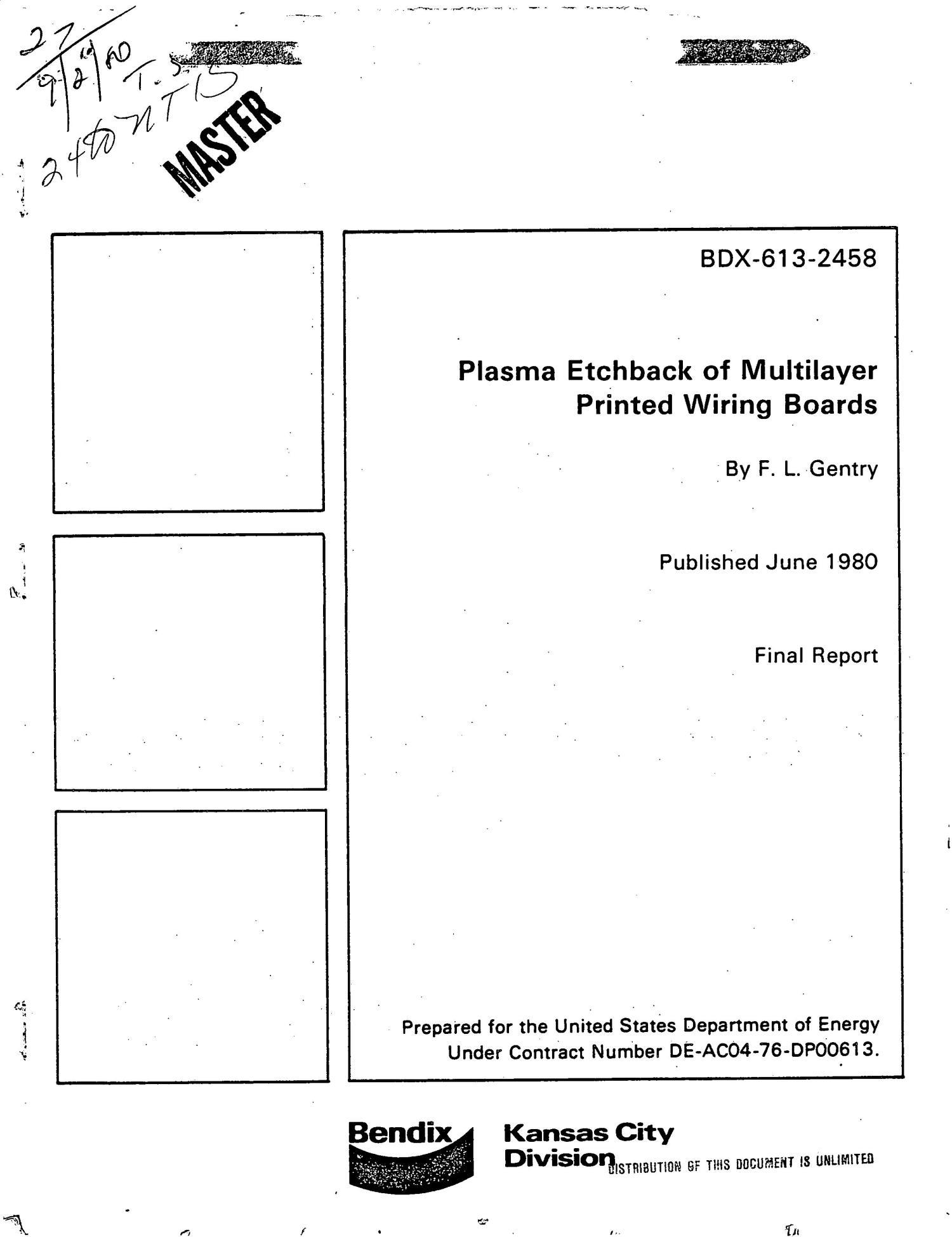 Plasma Etchback Of Multilayer Printed Wiring Boards Digital Library Board