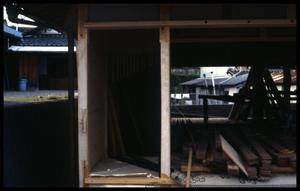 Primary view of object titled '[House under construction]'.
