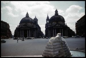 Primary view of object titled '[Piazza di Popolo]'.