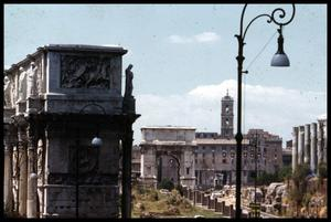 Primary view of object titled '[Roman Forum]'.