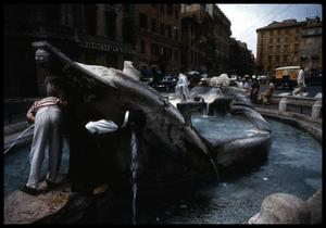 Primary view of object titled '[Piazza di Spagna]'.