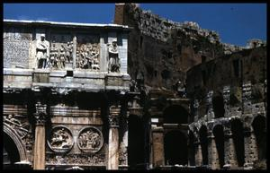 [Arch of Constantine and Colosseum]