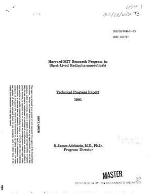 Primary view of object titled 'Harvard-MIT research program in short-lived radiopharmaceuticals'.
