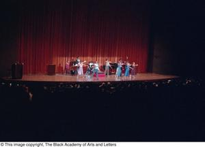 Primary view of object titled '[Black Music and the Civil Rights Movement Concert Photograph UNTA_AR0797-145-15-19]'.