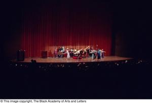 Primary view of object titled '[Black Music and the Civil Rights Movement Concert Photograph UNTA_AR0797-145-15-20]'.