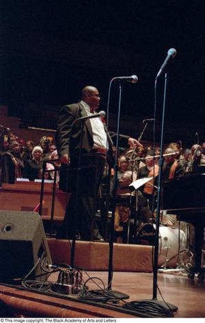 Primary view of object titled '[Black Music and the Civil Rights Movement Concert Photograph UNTA_AR0797-145-13-01]'.