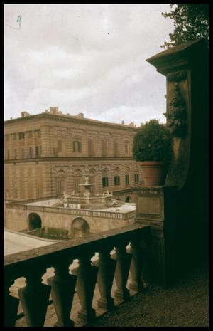 Primary view of object titled '[View from Boboli Gardens]'.