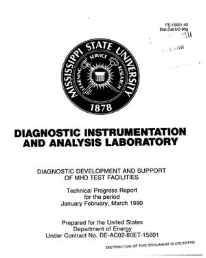 Primary view of object titled 'Diagnostic development and support of MHD test facilities'.