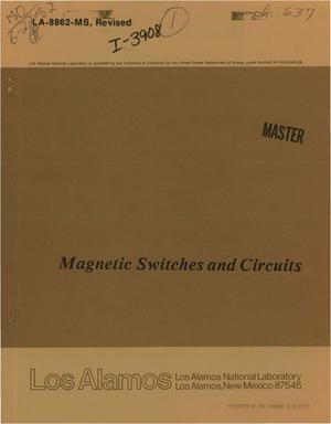 Primary view of object titled 'Magnetic switches and circuits'.