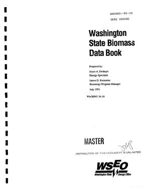 Primary view of object titled 'Washington State biomass data book'.