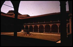 Primary view of object titled '[Cloisters of Santa Croce]'.