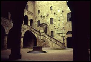 Primary view of object titled '[Bargello Courtyard]'.