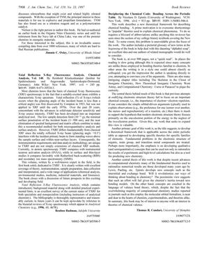 Primary view of object titled '[Review] Deciphering the Chemical Code: Bonding Across the Periodic Table'.