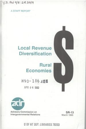 Primary view of object titled 'Local revenue diversification : rural economies'.
