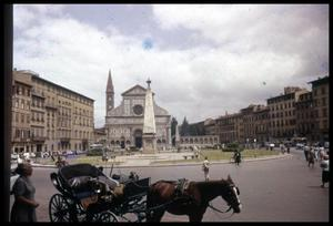 Primary view of object titled '[Piazza Santa Maria Novella]'.