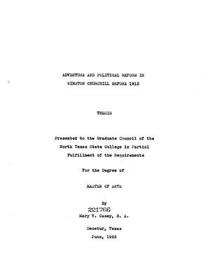 Thesis on winston churchill resume how to write sample