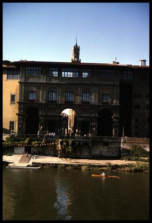 [Uffizi on the Arno River]
