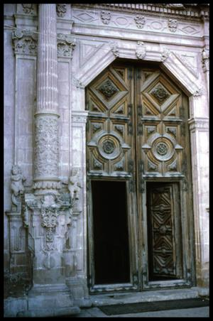 [Carved Doorway]