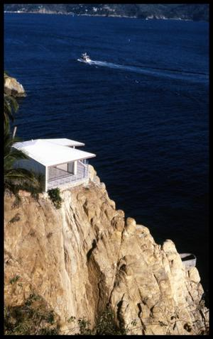 Primary view of object titled '[House on Cliff]'.