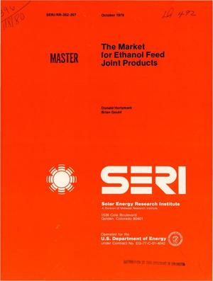 Primary view of object titled 'Market for ethanol feed joint products'.