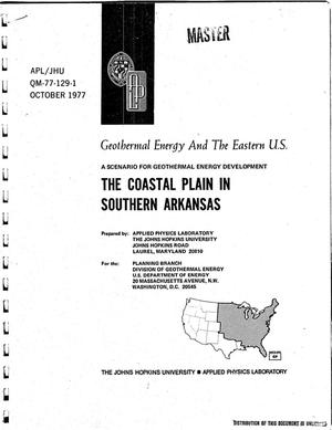 Primary view of object titled 'Coastal plain in Southern Arkansas'.