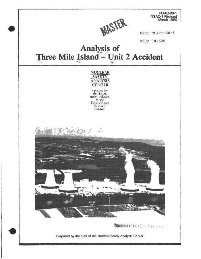 three mile island primary sources