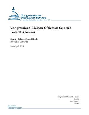 Primary view of Congressional Offices of Selected Federal Agencies