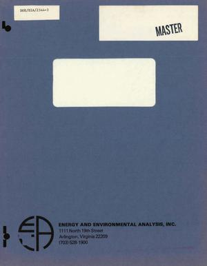 Primary view of object titled 'Industrial Sector Technology Use Model (ISTUM): industrial energy use in the United States, 1974-2000. Volume 2. Results'.