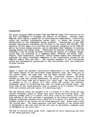 Response of Soviet VVER-440 accident localization systems to