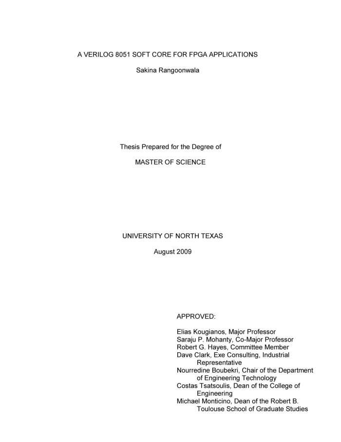 MASTER OF SCIENCE THESIS - University of Rhode Island