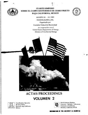 Primary view of object titled 'ACTAS proceedings: Volume 2'.