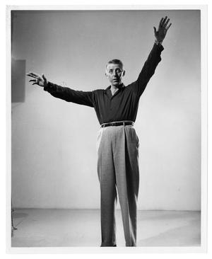 Primary view of object titled '[Stan Kenton Conducting]'.