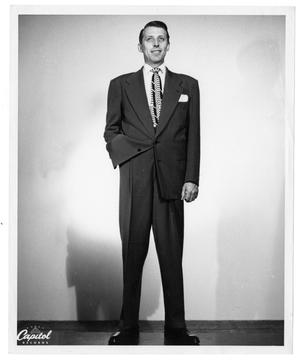 Primary view of object titled '[Full-Length Portrait of Stan Kenton]'.