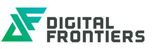 Primary view of object titled 'Logo: Digital Frontiers'.