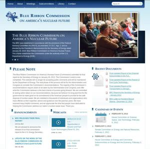 Blue Ribbon Commission on America's Nuclear Future