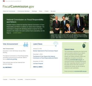 Primary view of object titled 'Fiscal Commission.gov'.