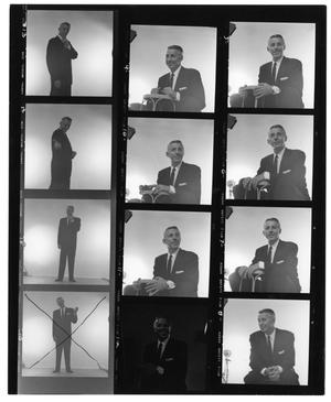 [Sheet of Stan Kenton Photographs]