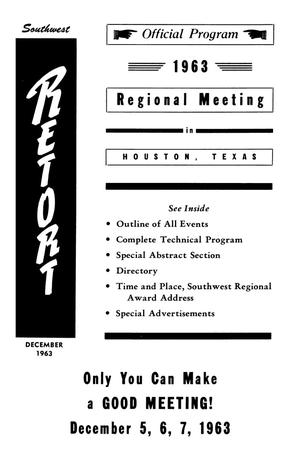 Primary view of object titled 'Southwest Retort, Volume 16, Number 4, December 1963'.