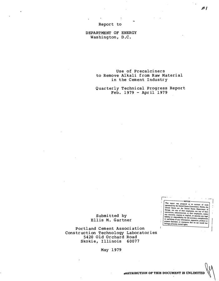PORTLAND CEMENT ASSOCIATION SKOKIE - Mike Zande - Director
