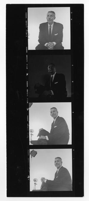 Primary view of object titled '[Sheet of Stan Kenton Photographs]'.