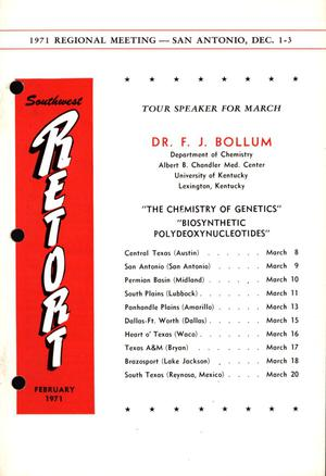 Southwest Retort, Volume 23, Number 6, February 1971