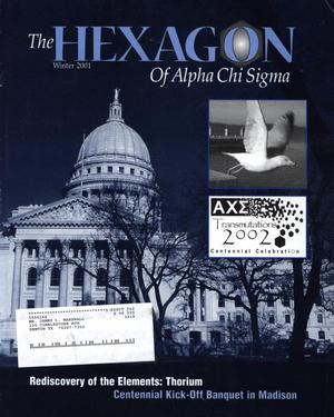 The Hexagon, Volume 92, Number 4, Winter 2001